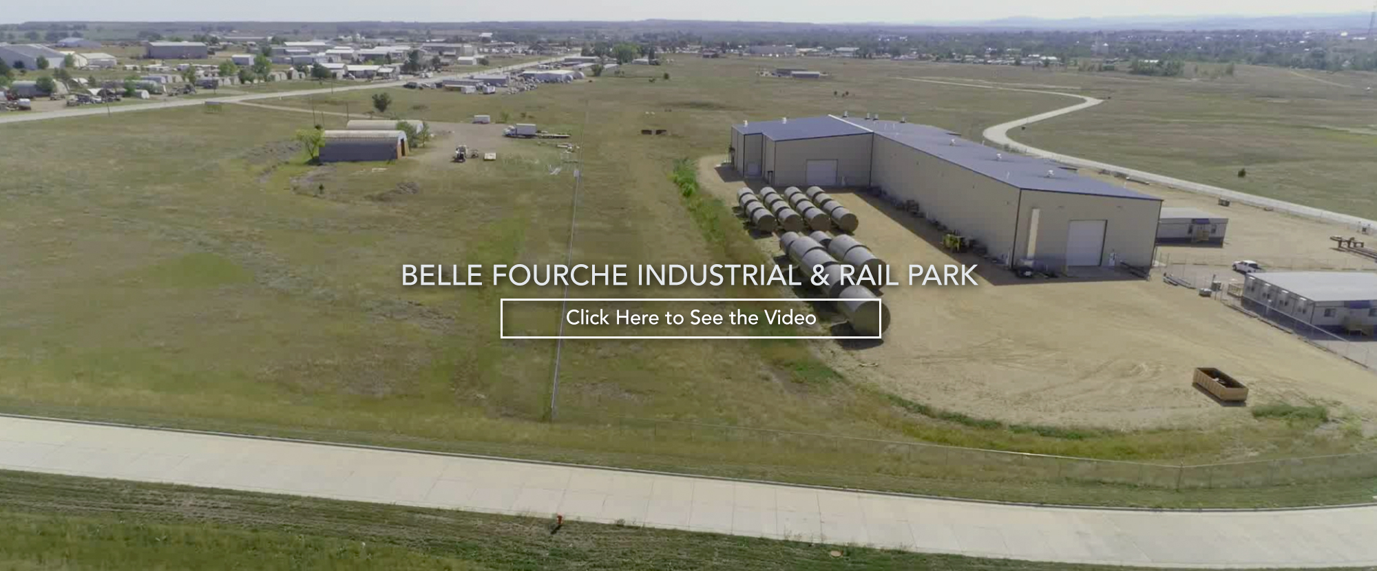 Belle Fourche Industrial & Rail Park. Click Here to See the Video